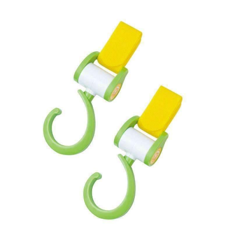 Multi Purpose Stroller Hook (Green / Orange) - Random Colour / Buy 2 Get 1 Free Singapore