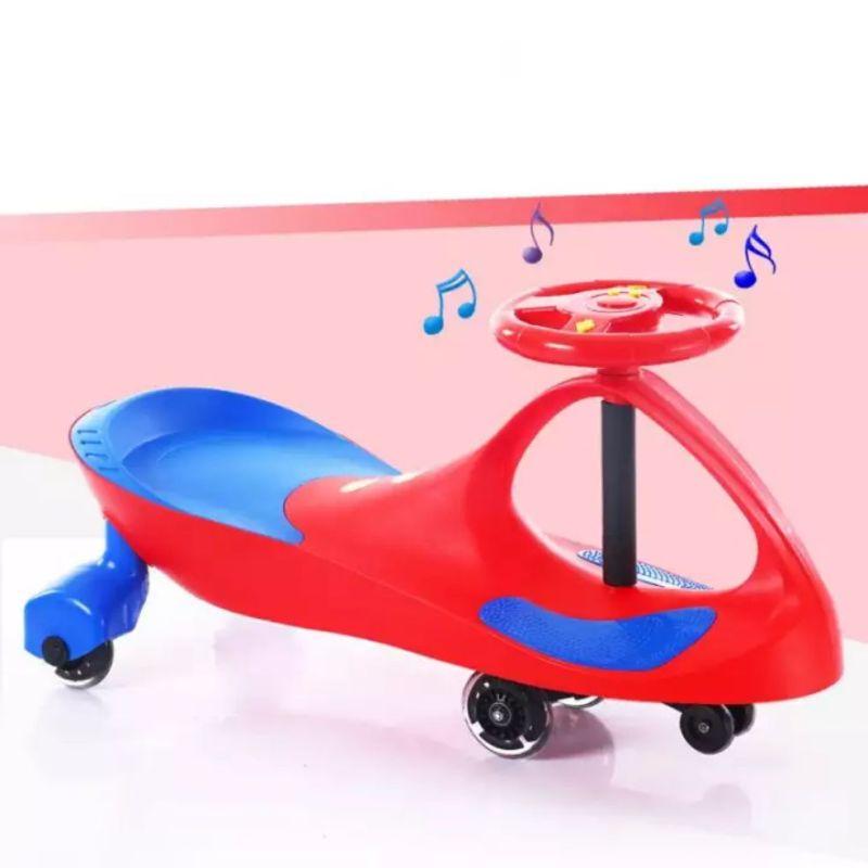 Children Twist Car 1-3 Years Old Baby Car Mute Round Universal Wheel Baby Girl Toy Rid On Cars Kids Singapore