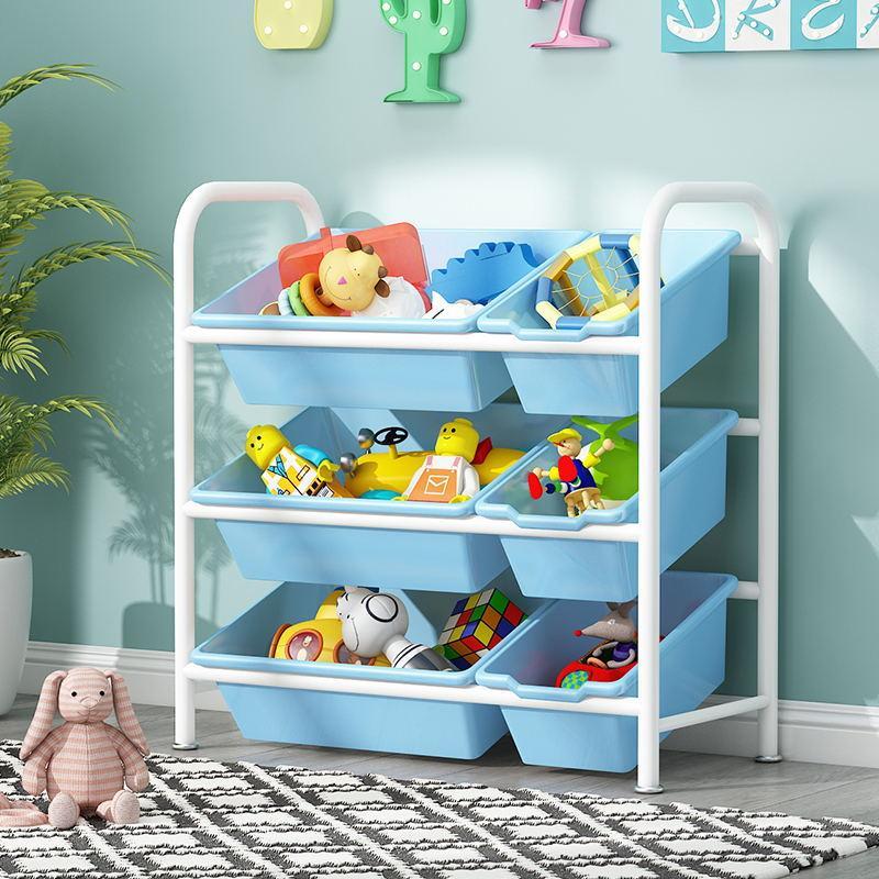 Childrens Toy Compartmental Storage Rack Storage Cabinets Storage Organizing Rack Simplicity Storage Box Kindergarten Baby Toy Frame