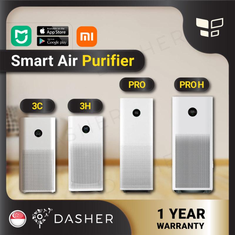 [ENGLISH] Xiaomi Smart Air Purifier 3H & Purifier 3C & Purifier Pro & & Pro H ProH; Filter -Purifier  PRO Purifier 3H Mi Smart Home OLED Screen Display HEPA Filter with Local 2pin Plug Singapore