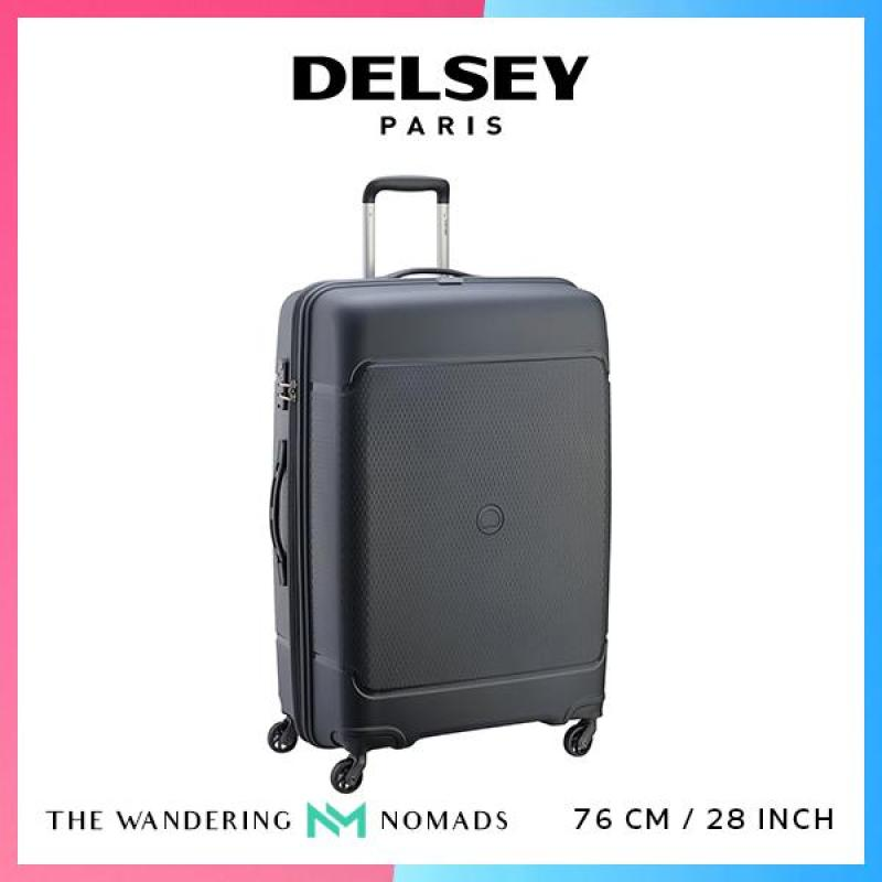 Delsey Sejour 76cm Polypropylene Trolley Case Luggage 28inch - Black