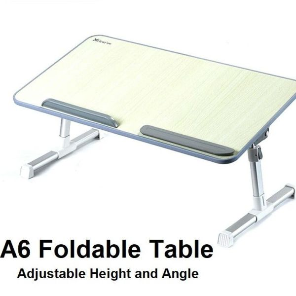 [ FREE FAST DELIVERY ] [ LOCAL READY STOCK ] Xgear SAIJI A6 Foldable Multi-Purpose Adjustable Height Laptop Table Desk Work Home