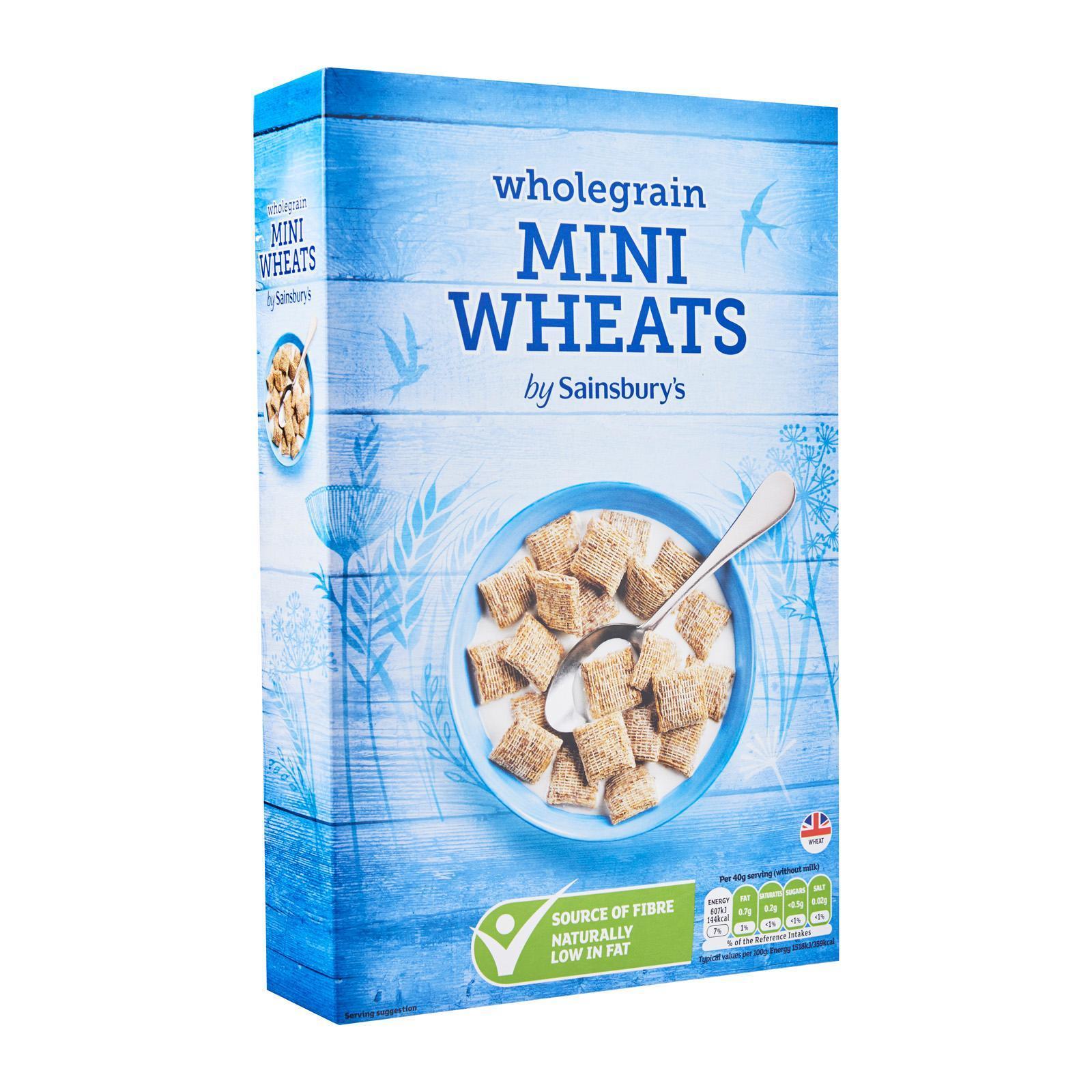 Sainsbury's Wholegrain Mini Wheats Cereal