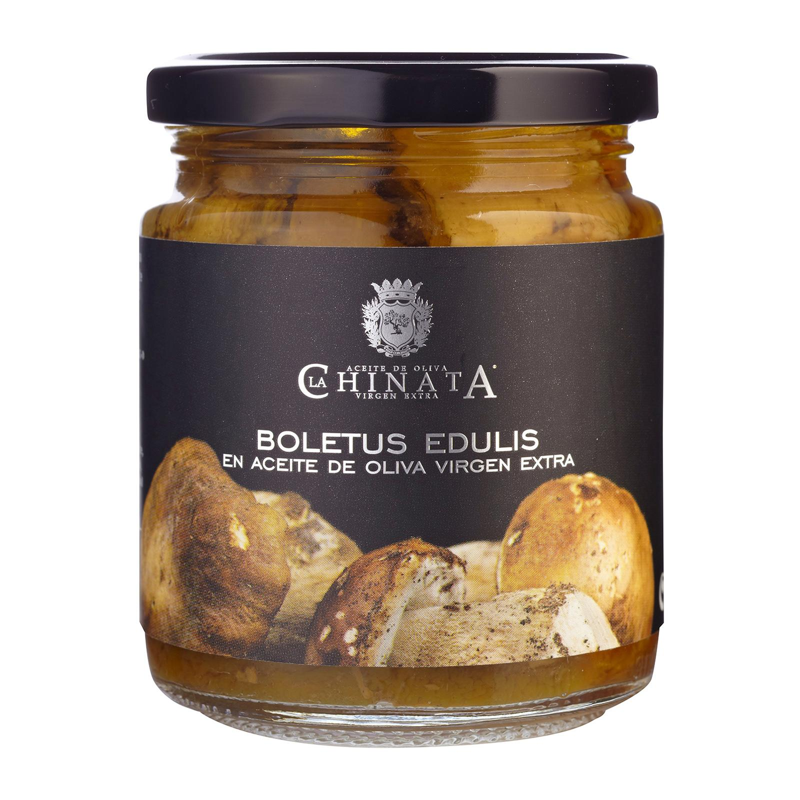 La Chinata Funghi Porcini Mushrooms in Extra Virgin Olive Oil - By TANINOS