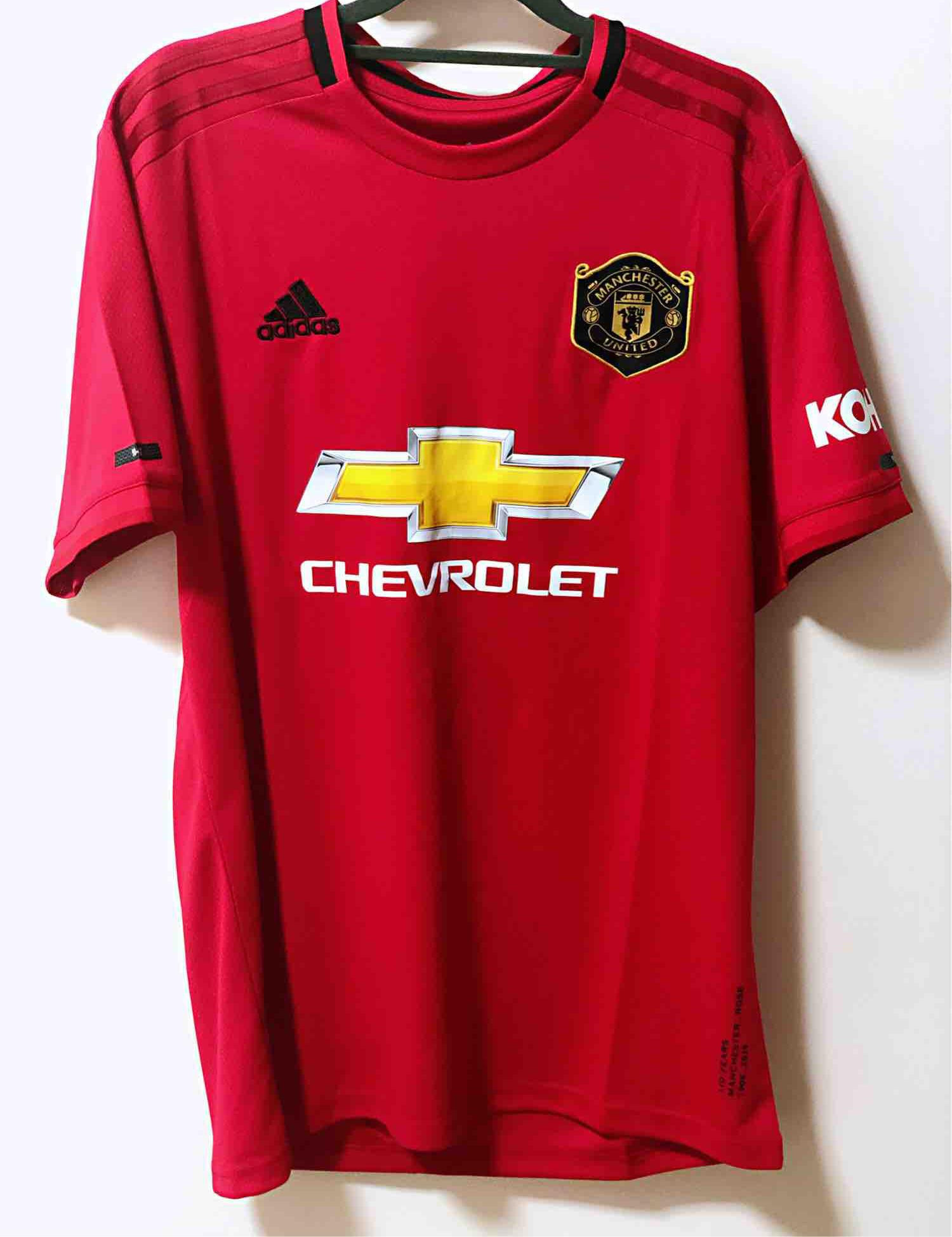 635b7841f 19 20 Manchester United Home Football Jersey