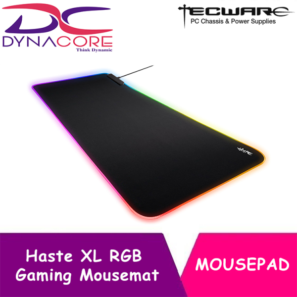 DYNACORE - Tecware Haste XL RGB Gaming Mouse Mat