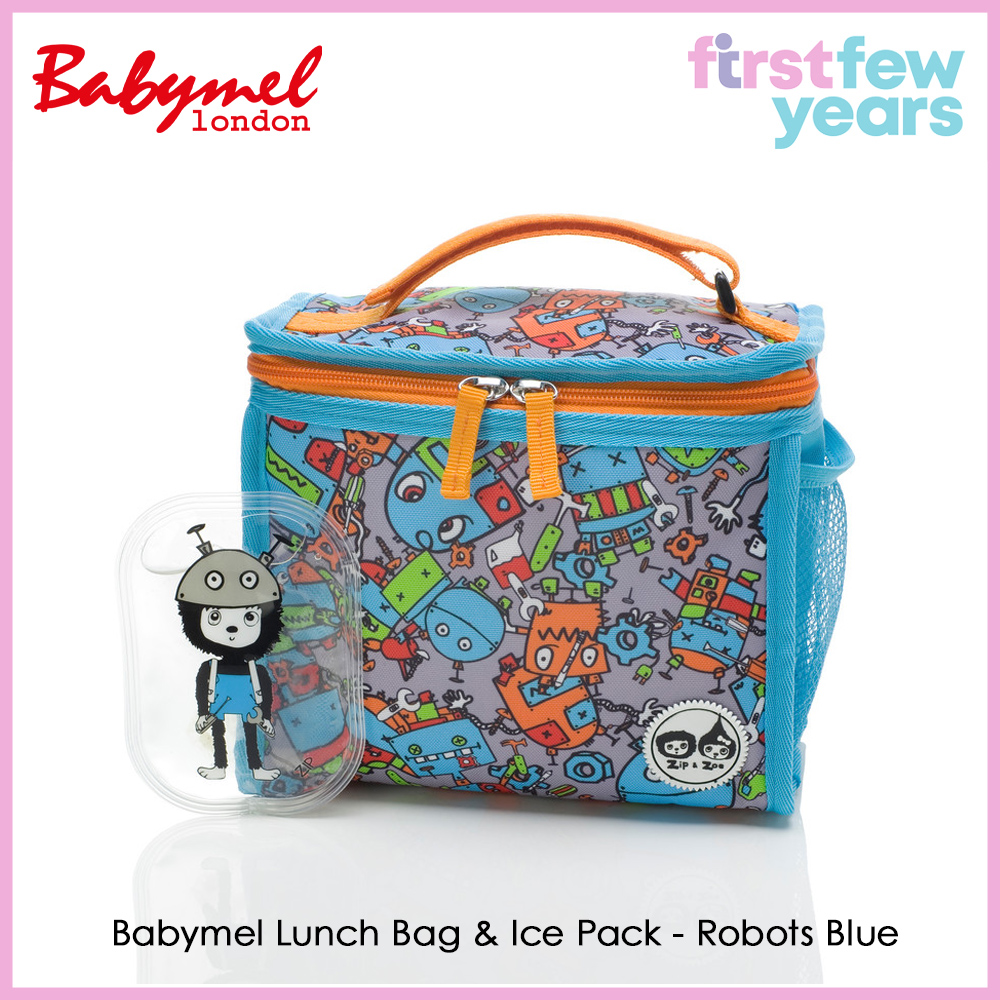 Babymel Zip and Zoe Zipped Lunchie + Ice pack (7 Designs)