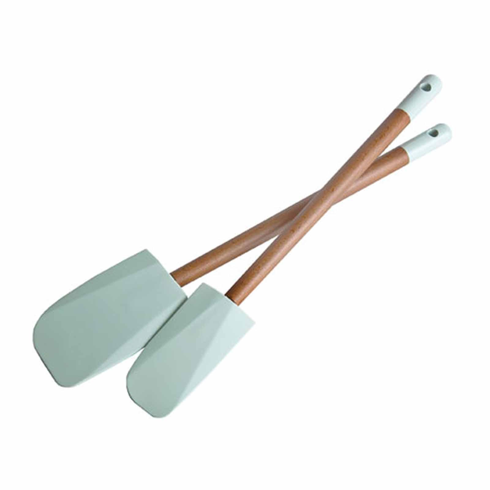Jamie Oliver Set Of 2 Silicone Spatulas-W3.5Cm And W5.5Cm - By ToTT