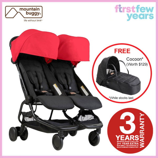 Mountain Buggy Nano Duo Stroller from Authorised Retailer Singapore