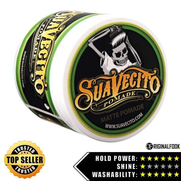 Buy Suavecito Strong Hold Matte Pomade 4oz - ORIGINALFOOK Singapore