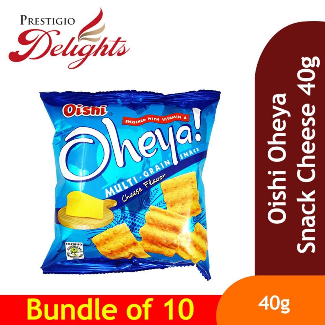 Oishi Oheya Snack Cheese 40g Bundle Of 10 By Prestigio Delights.