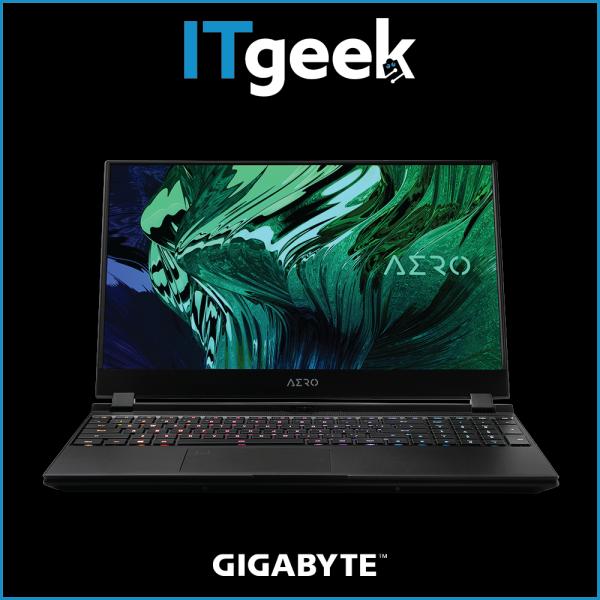 Gigabyte AERO 15 OLED (RTX 30 Series) 15.6 4K UHD Samsung OLEDIntel i9-10980HKRTX 3080 MAX-Q8GB GDDR62*32GB 2933MHz1TB PCIe SSD x2Win 10 Pro Gaming Laptop