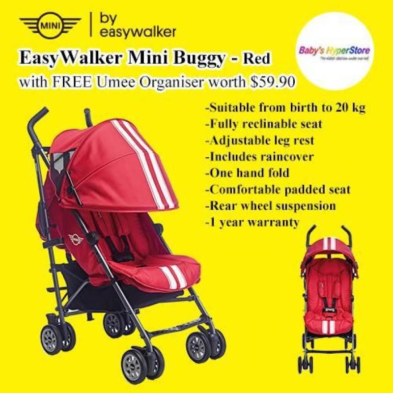 EasyWalker Mini Buggy with FREE Bumper Bar worth $49.90 Singapore