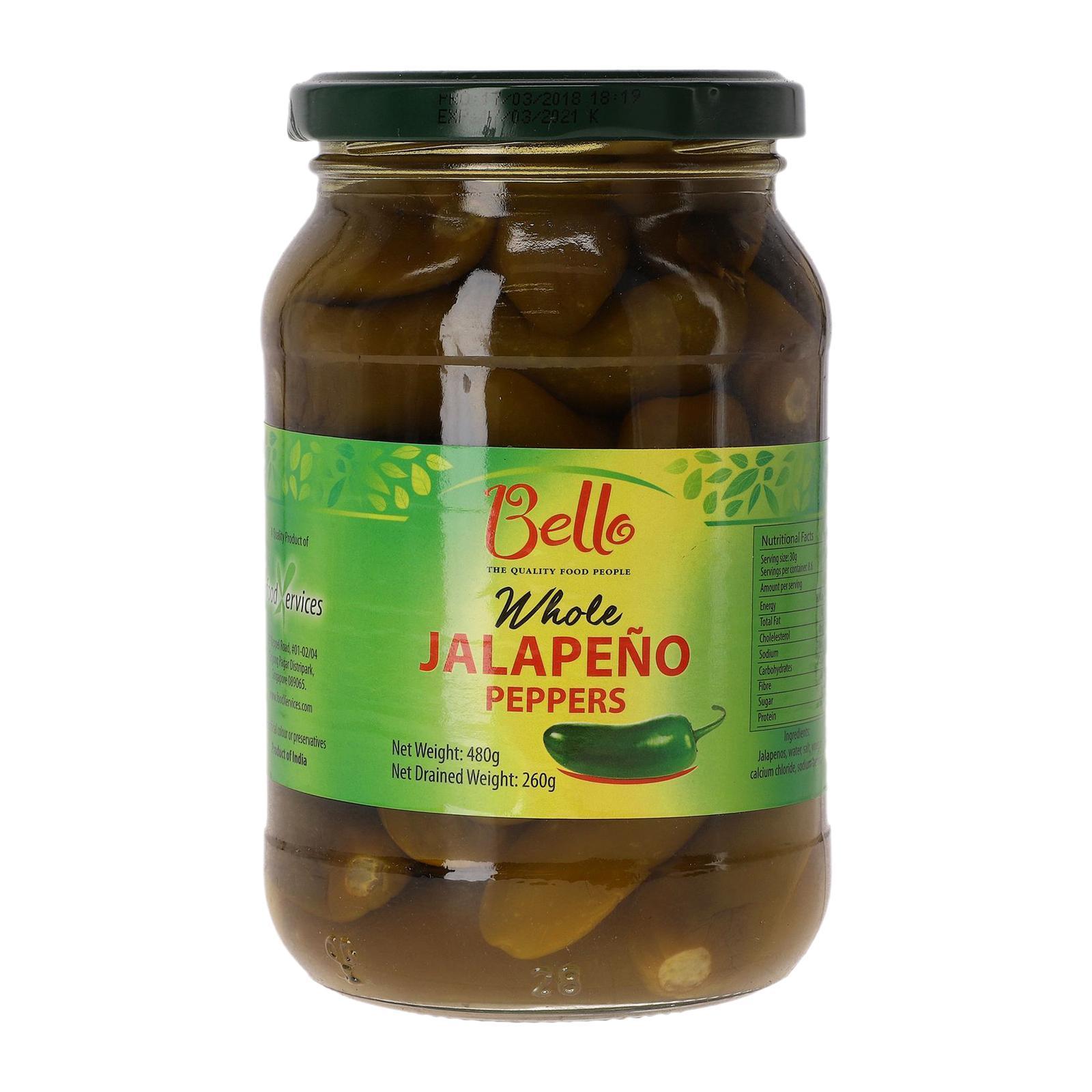 Bello Whole Jalapeno Pepper