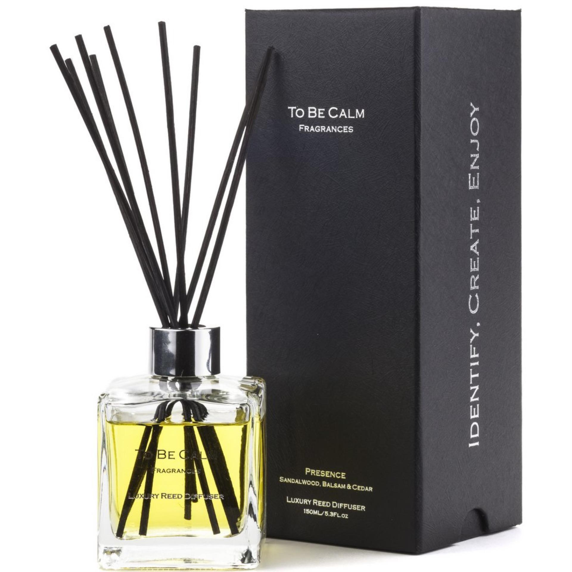 To Be Calm Presence - Sandalwood, Balsam & Cedar - Reed Diffuser