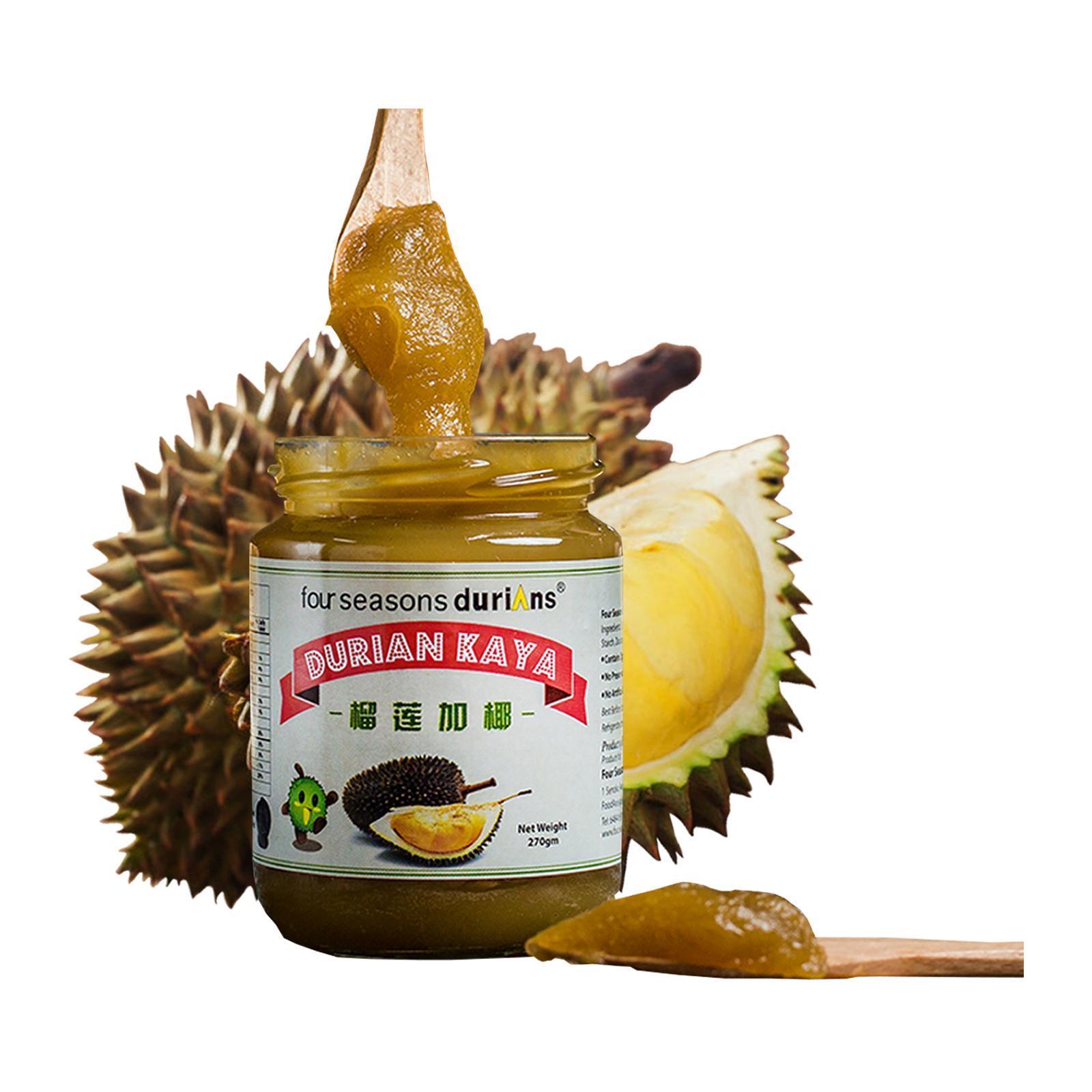 Four Seasons Durians Durian Kaya Bottle 270g
