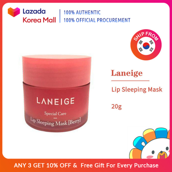 Buy Laneige Official  Lip Sleeping facial mask 20g (Berry) [Korea Beauty Authentic] Singapore