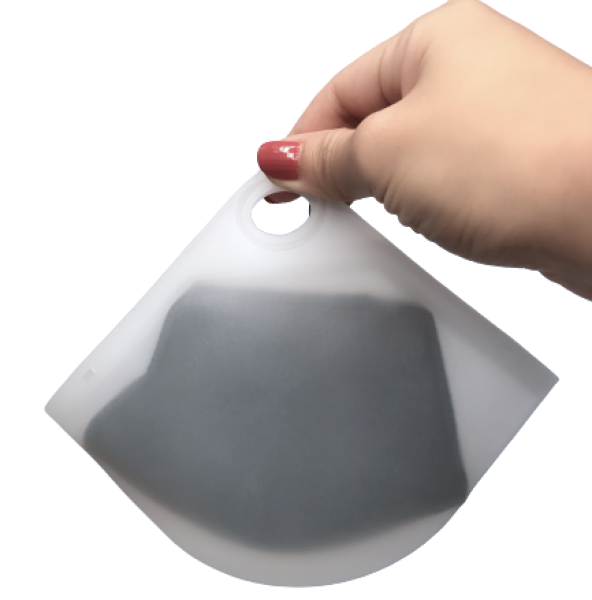 [SG Seller] Reusable Food Grade Platinum Silicone Face Mask Bags, Reusable Mask Pouch ****MASK+ACCESSORIES NOT INCLUDED