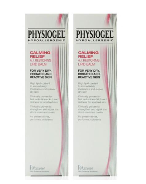 Buy Physiogel Calming Relief AI Restoring Lipid Balm 50ml x 2 Singapore