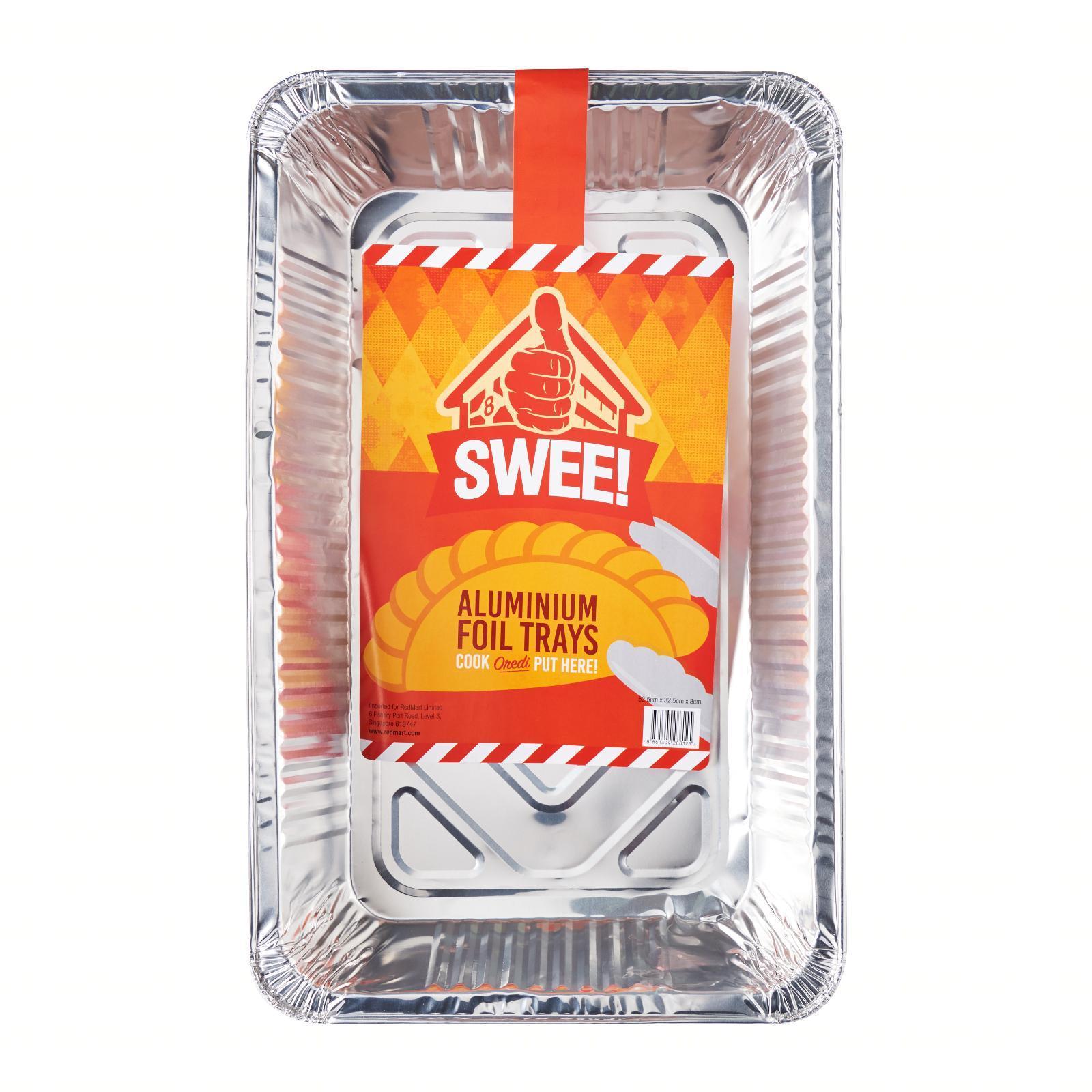 Swee! Aluminium Foil Tray (Large) - 52.5CM X 32.5CM