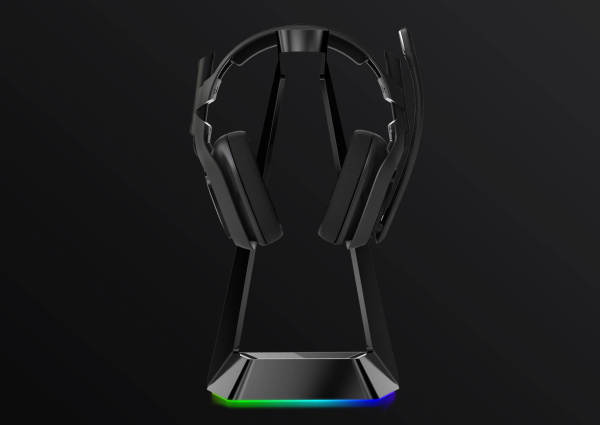 ⭐[SG SELLER]⭐ Chroma Headphone Stand with Wireless Charging and USB Ports
