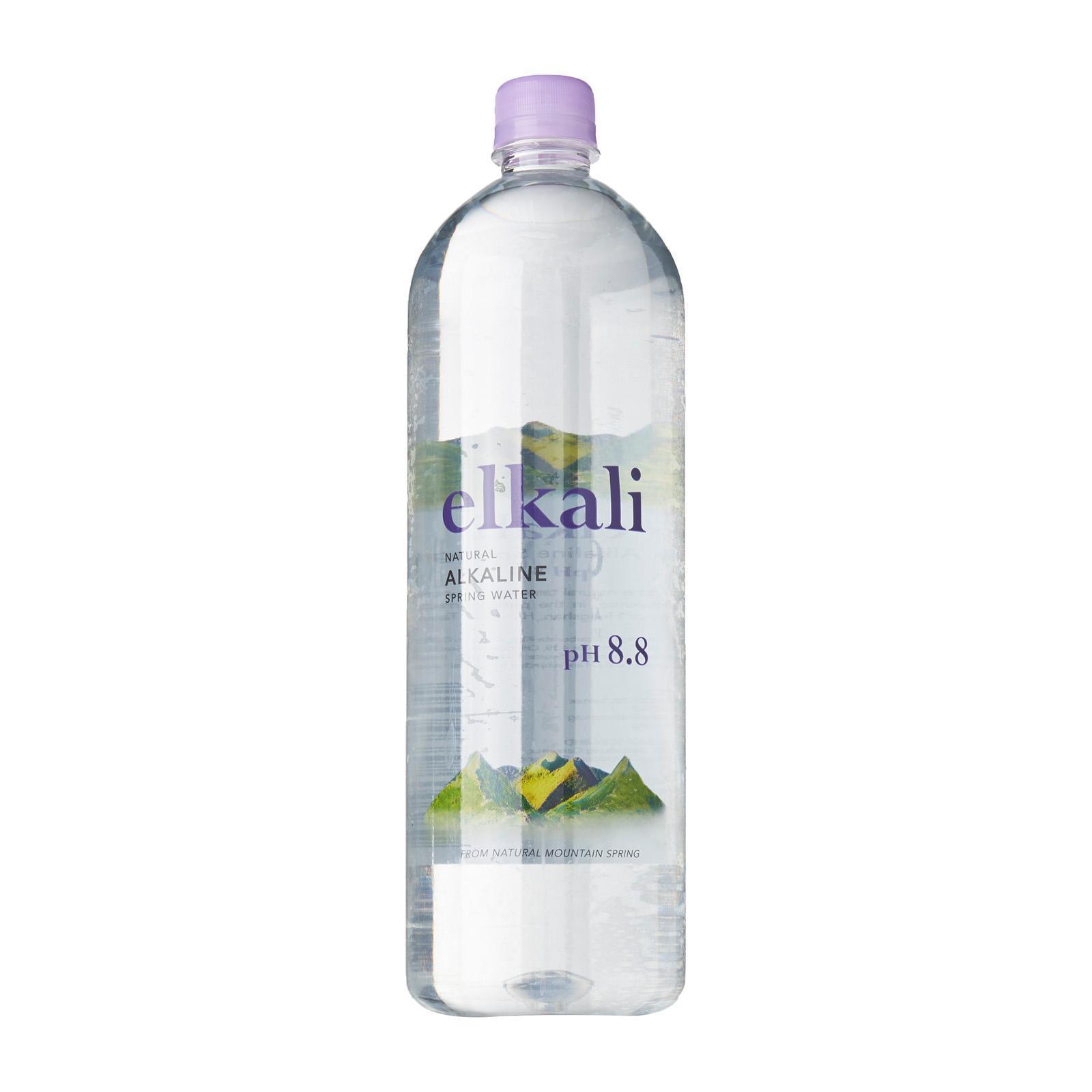Elkali Natural Alkaline Spring Water 1.25L