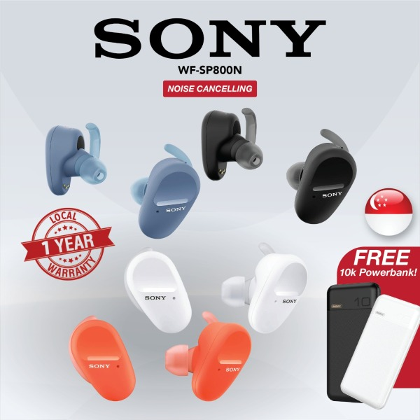 [SG] Sony WF-SP800N True Wireless Sports In-Ear Noise Cancellation Earbuds/Earphones with Mic Singapore