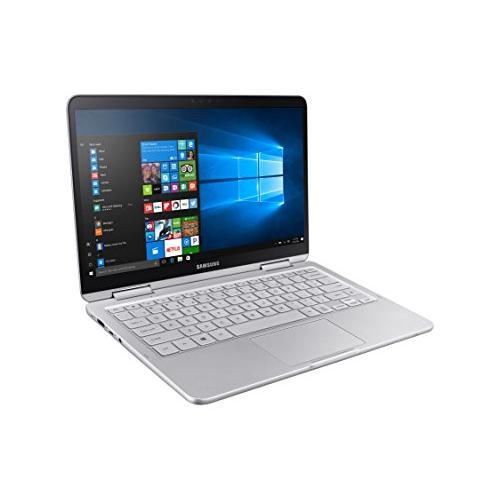 Samsung Notebook 9 Pen NP930QAA-K01US 2-in-1 Laptop (Windows 10 Home, Intel Core i7, 13.3 LCD Screen, Storage: 256 GB, RAM: 8 GB) Light Titan