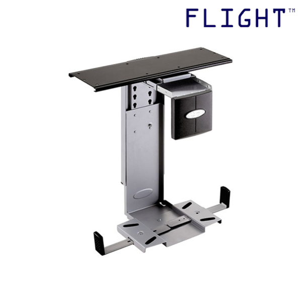 CPU Holder, Silver, Max Load 25kg, Home Office Ergonomics, Office Furniture - CP-200 - Flight