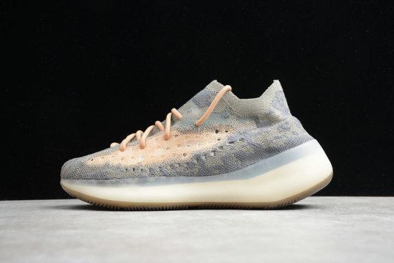 Adidasˉ Yeezyˉ 380 V3 giày thể thao nam gypsophila giày phản quang 2020 mùa xuân thoáng khí giày lưới thời trang giày chạy giá rẻ