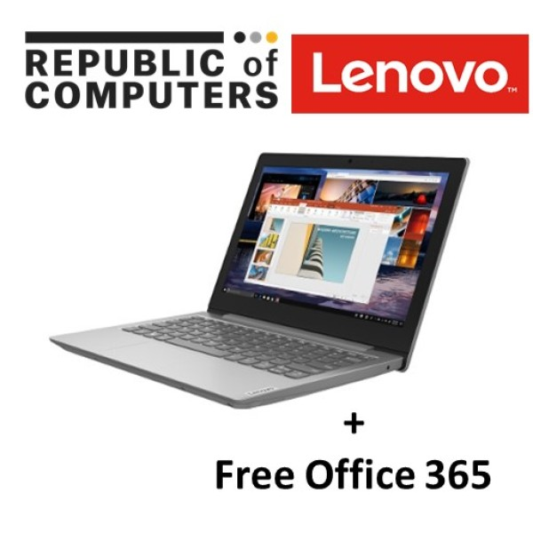 Lenovo IdeaPad 1 11IGL05 (81VT0003SB) FREE Office 365/11.6 HD (1366x768) /Celeron N4020/ 4GB RAM/ 64GB eMMC/ Win10 Home in S mode