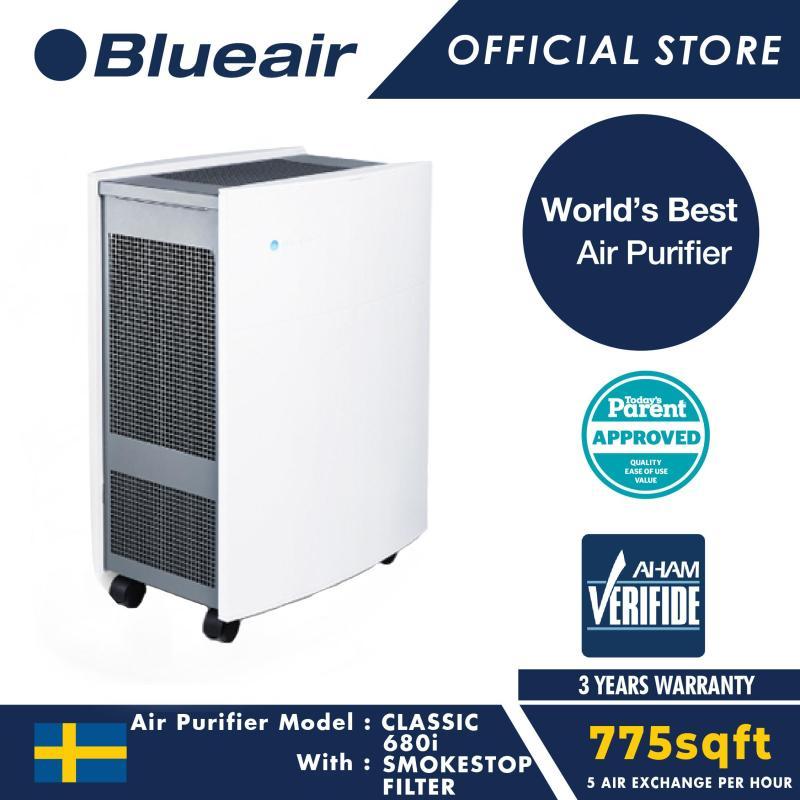 Blueair Air Purifier Classic 680i with SmokeStop Filter Singapore