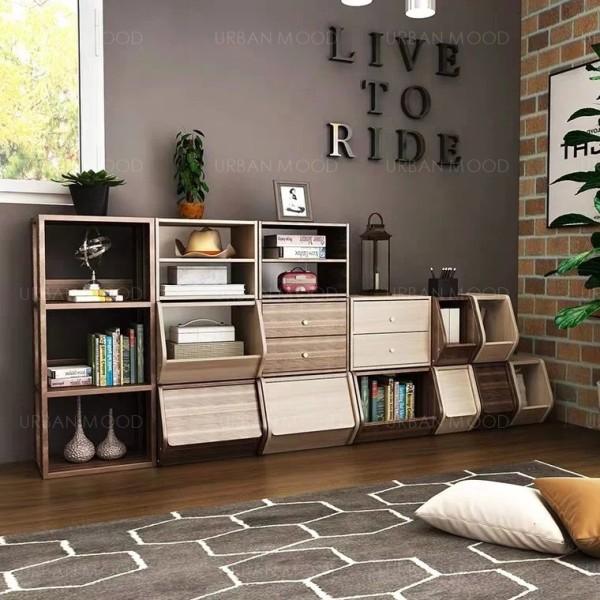 [Pre-Order] NOOK Modular Wooden Storage Shelves