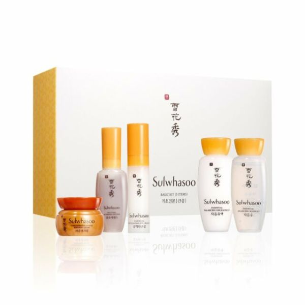 Buy (Best Selling) Sulwhasoo Basic Kit (5 Items) 46.5ml  (For soft and smoother skin Singapore