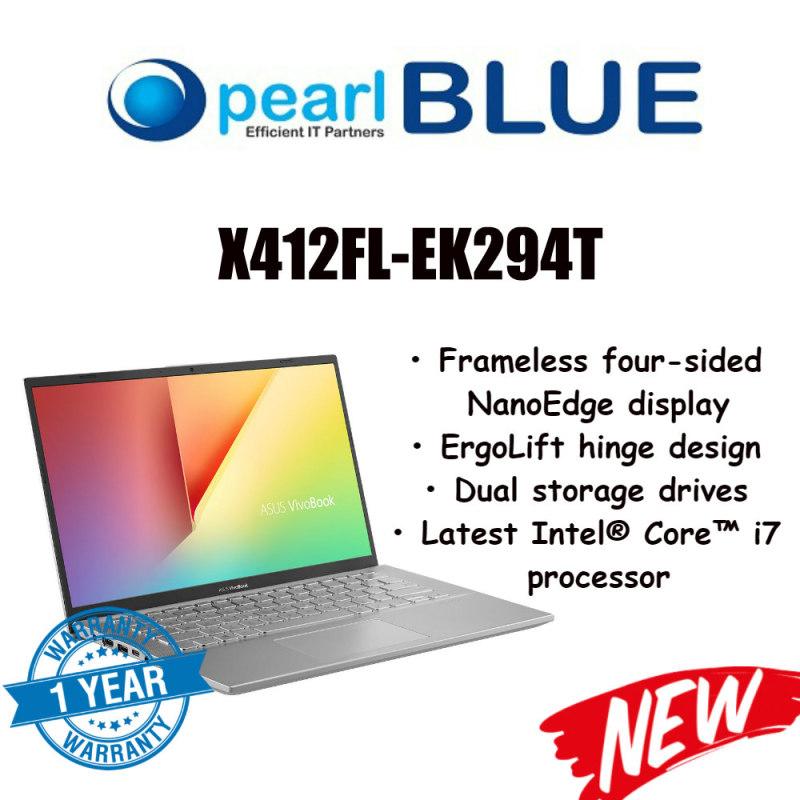 ASUS VivoBook 14 X412FL-EK294T / i7-8565U / 8 GB DDR4 / 512GB PCIe® SSD / MX250