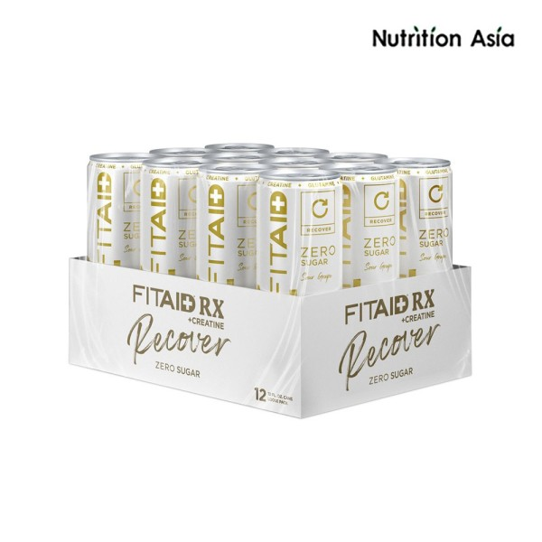 Buy FITAID RX Zero Sour Grape - RECOVER (12 cans) Singapore