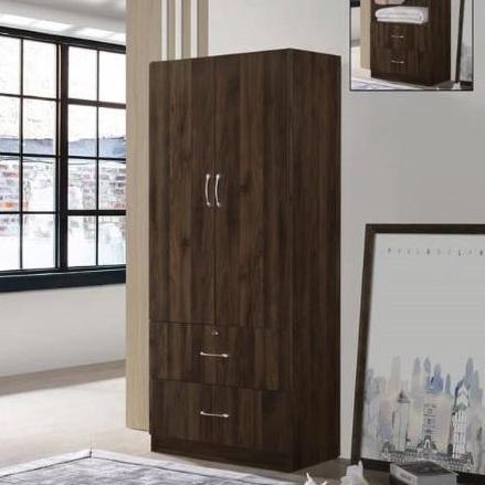 Pal 2 door Wardrobe (colombia oak colour)