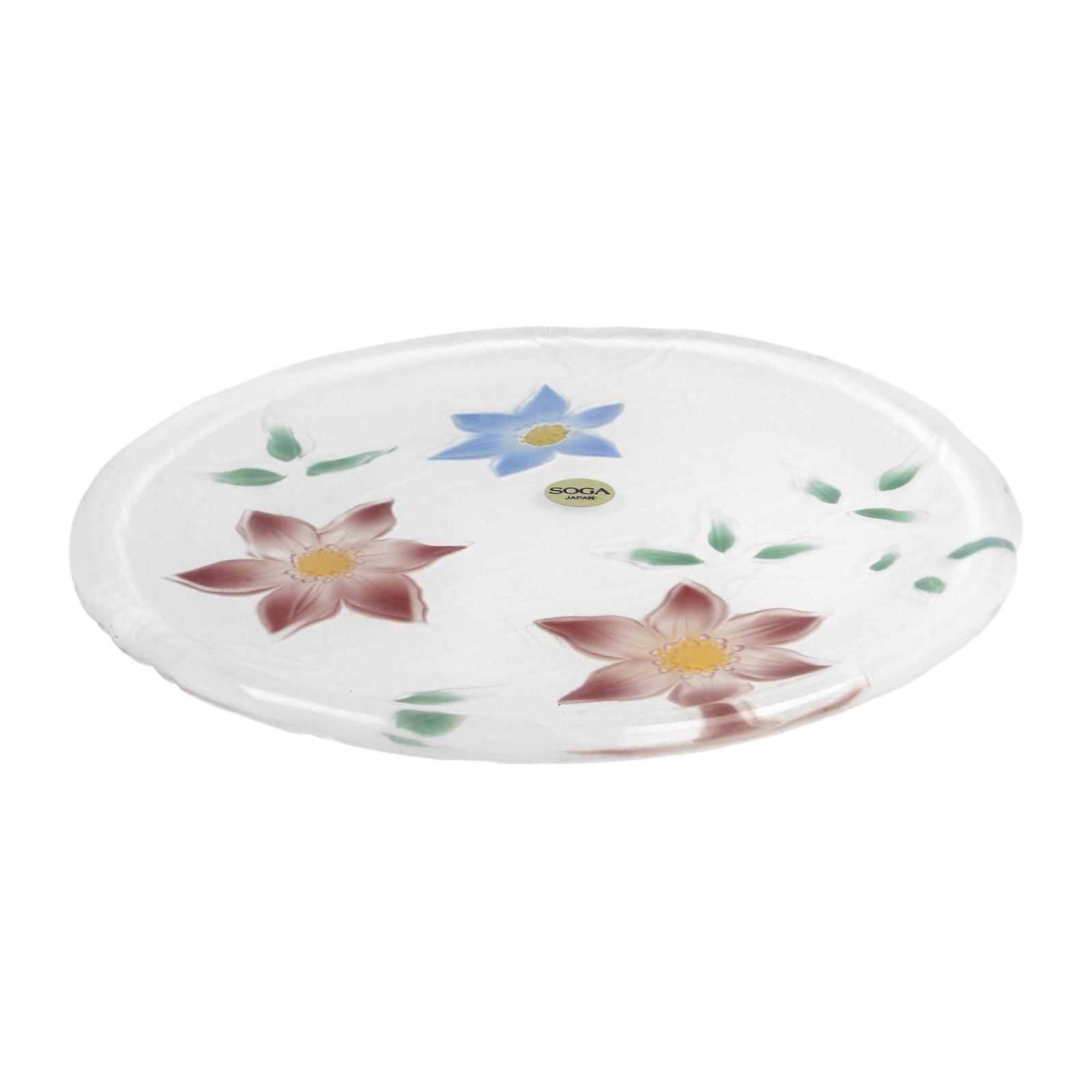 Soga Okusaga Glass Plate 9