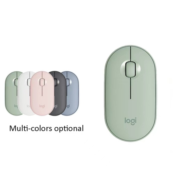Hot Logitech Pebble Slim & Silent Pebble M350 Modern Wireless Bluetooth Mouse Optical Tracking For laptop PC Office