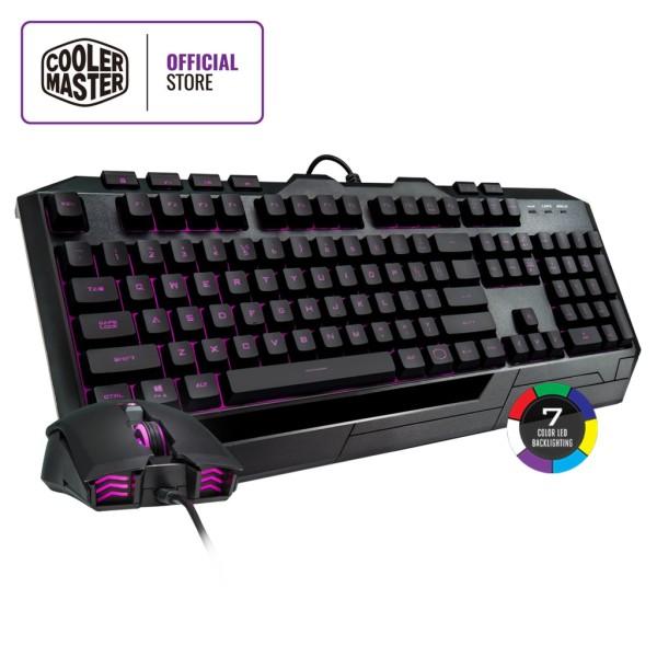 Cooler Master Devastator 3 Plus Keyboard & Mouse Combo, 7-color Illumination, Mem-chanical Linear Switches, 2400 DPI Singapore