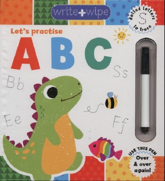 Write & Wipe Clean: ABC / English Toddler Books / (9781849993807)