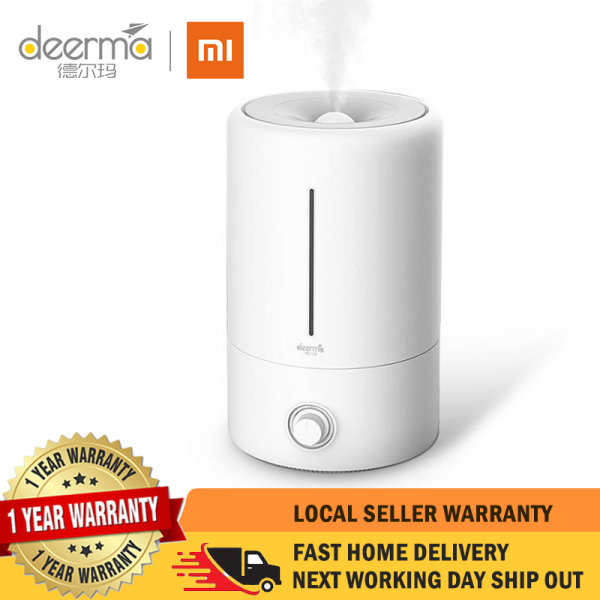 【1 Year Local Warranty】Xiaomi Deerma DEM-F628 Air Humidifier Ultrasonic 5L Quiet Aroma Mist Maker Led Timing Function Home Water Mini Diffuser Essential Oil Singapore