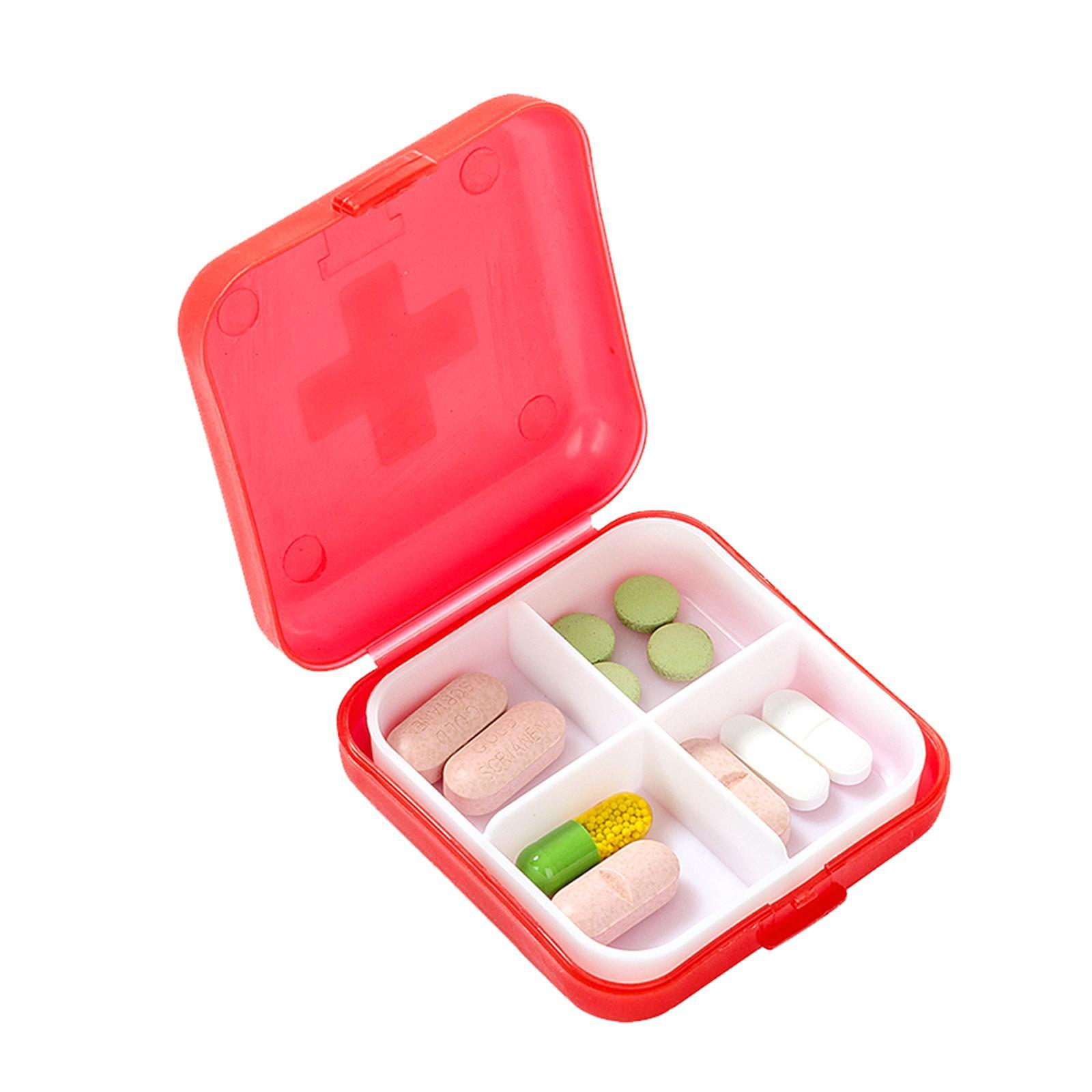 Mason Market Pill Box / Medicine Storage Box