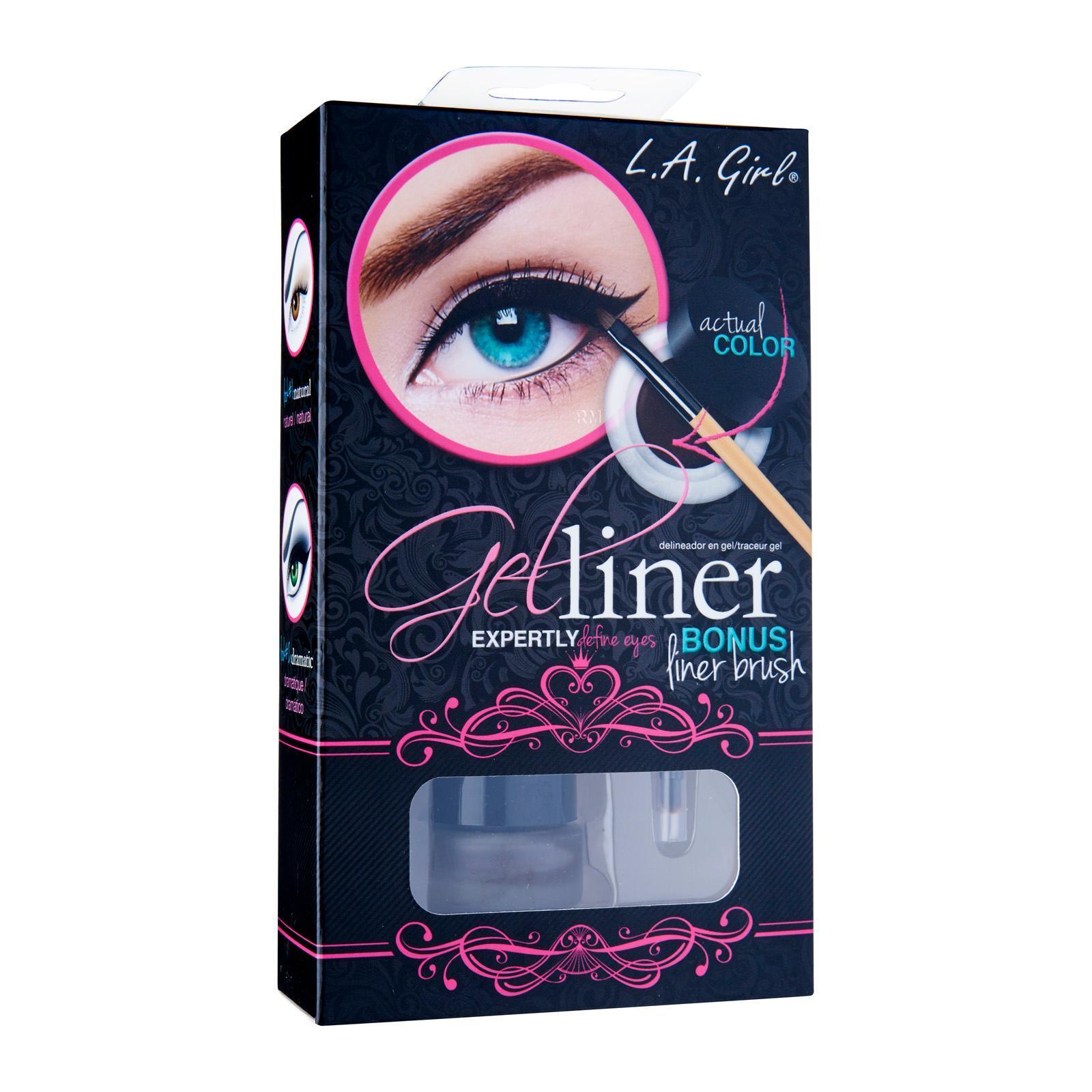L.A. Girl Gel Liner Kit Gel723 Dark Brown