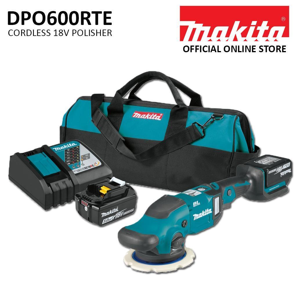 Makita DPO600RTE Cordless 18V Polisher (Set)