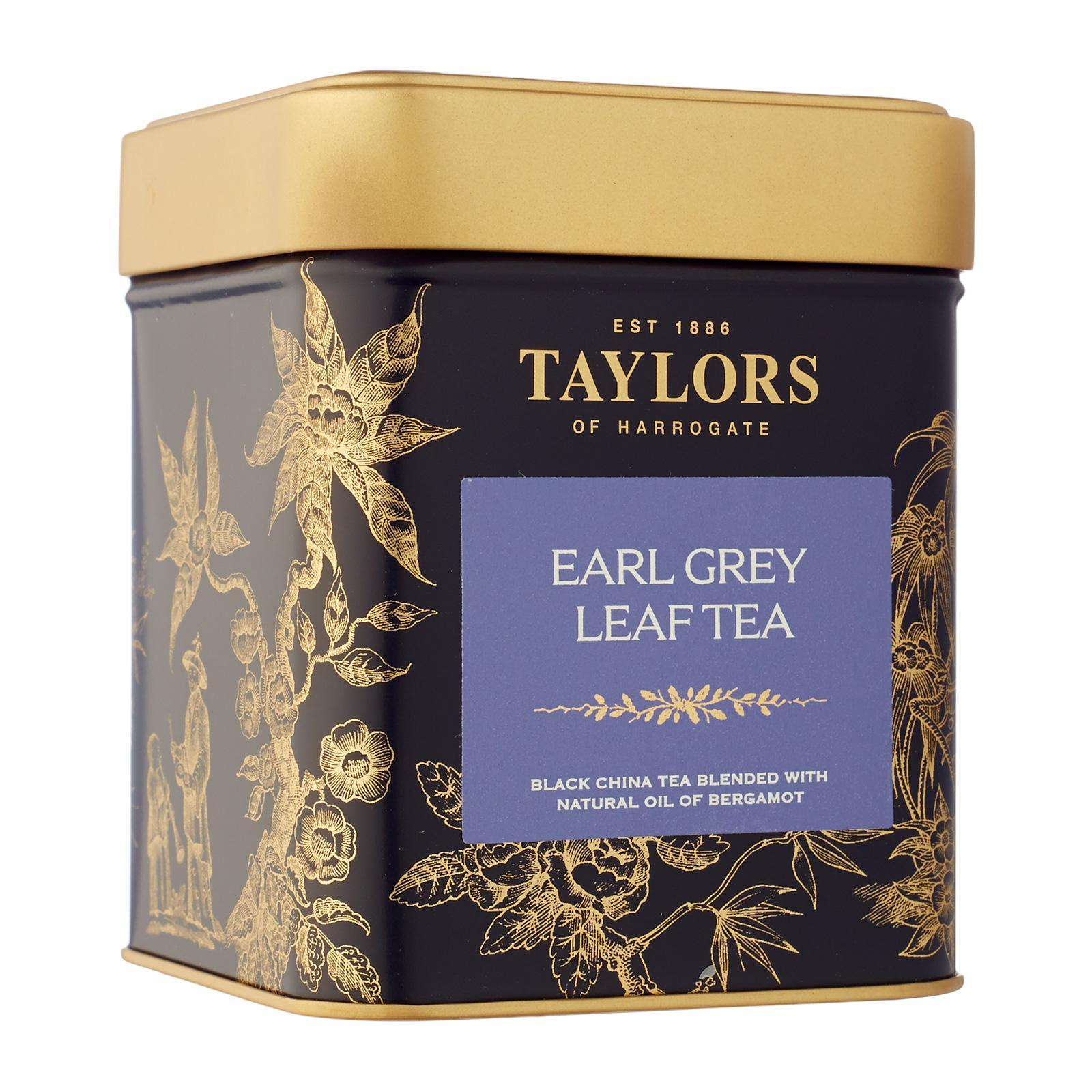 Taylors Of Harrogate Earl Grey Tea Leaf Caddy