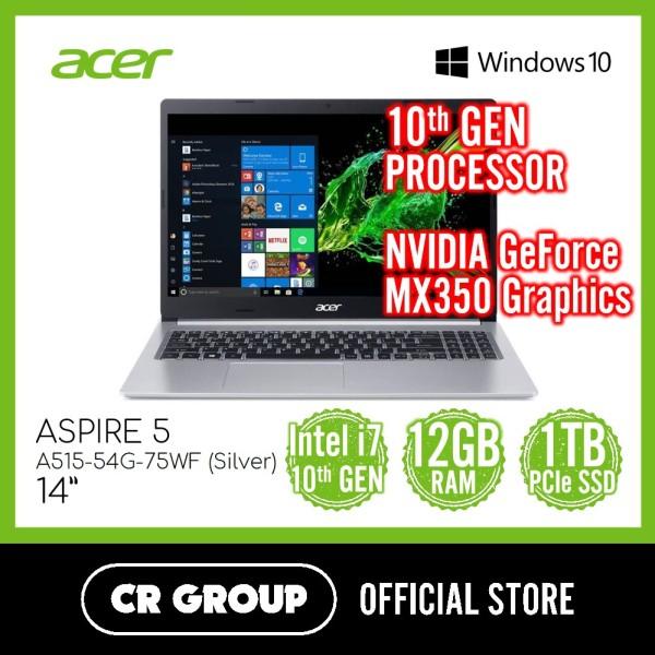 Acer Aspire 5 A515-54G-75WF 15.6 Inch | 10th i7-10510U | 12GB DDR4 | 1TB PCIe SSD | NVIDIA GeForce MX350 Graphics