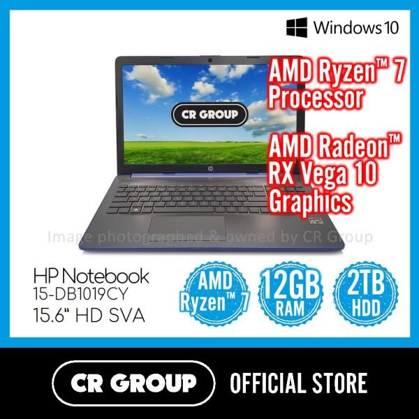HP Notebook 15-DB1019CY 15.6 Inch | AMD Ryzen™ 7 3700U | AMD Radeon™ RX Vega 10 Graphics |  2TB SATA HDD | HD SVA Touch-Screen