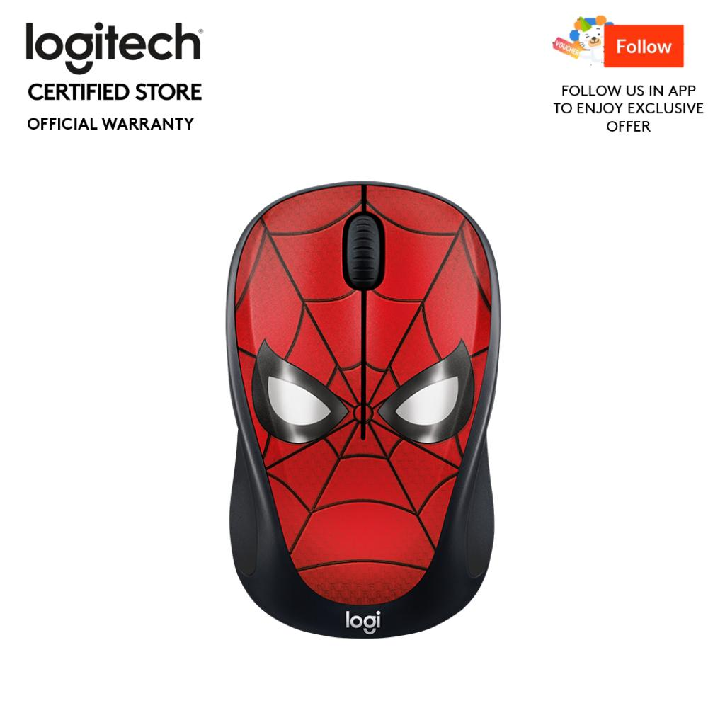 Logitech M238 Spider-Man Marvel Collection Wireless Mouse
