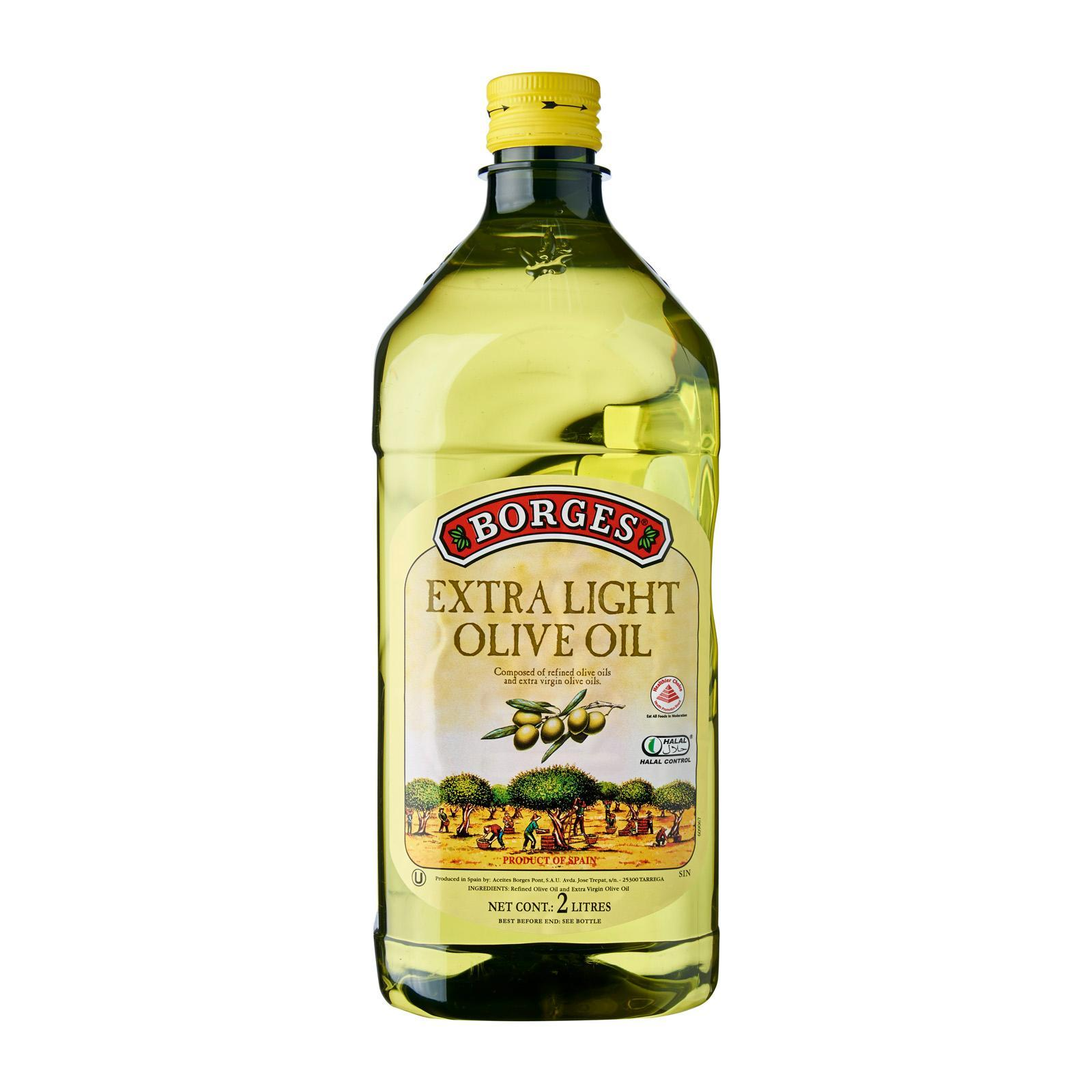Borges Extra Light Olive Oil 2L
